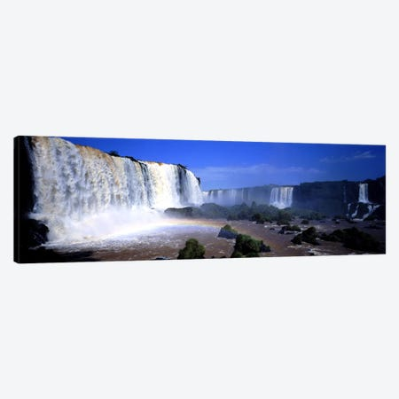 Iguazu Falls, Argentina Canvas Print #PIM3362} by Panoramic Images Art Print