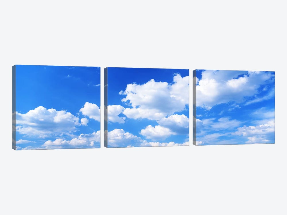 Clouds by Panoramic Images 3-piece Canvas Art Print