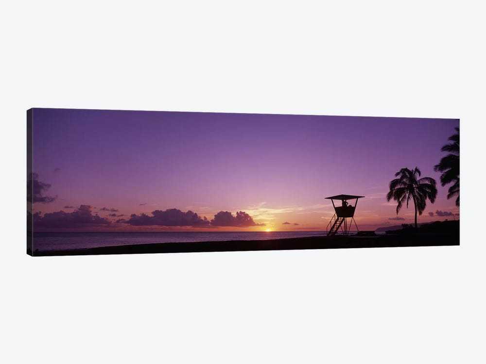 Waimea Bay Oahu HI USA by Panoramic Images 1-piece Canvas Art