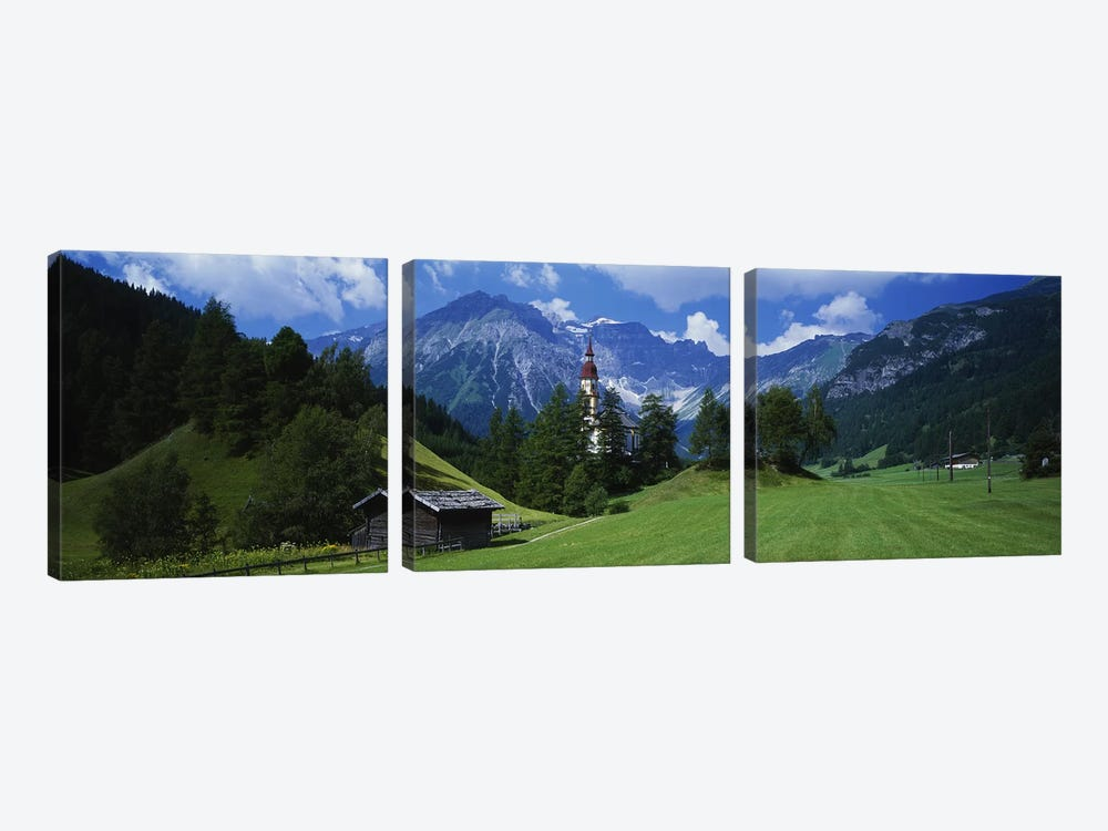 Oberndorf Tirol Austria by Panoramic Images 3-piece Canvas Artwork