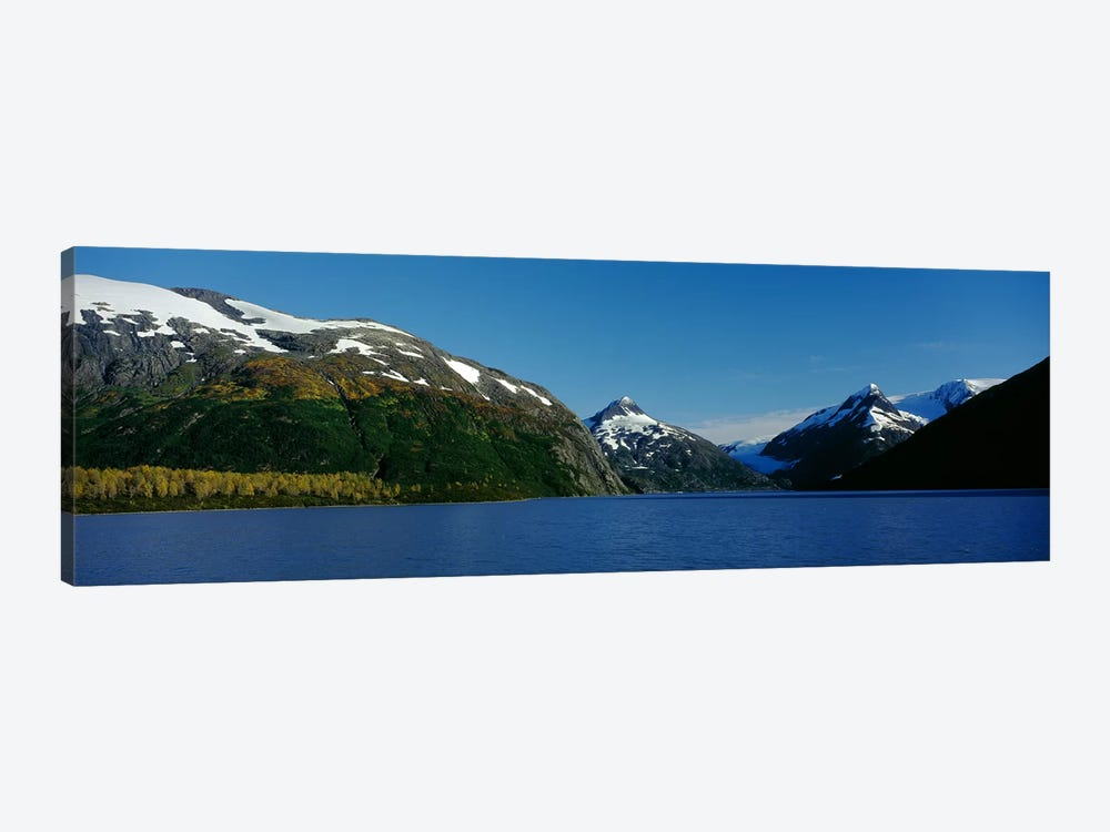 Mountains at the seaside, Chugach National Forest, near Anchorage, Alaska, USA by Panoramic Images 1-piece Canvas Art Print