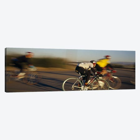 Bicycle race, Tucson, Pima County, Arizona, USA Canvas Print #PIM3386} by Panoramic Images Canvas Artwork