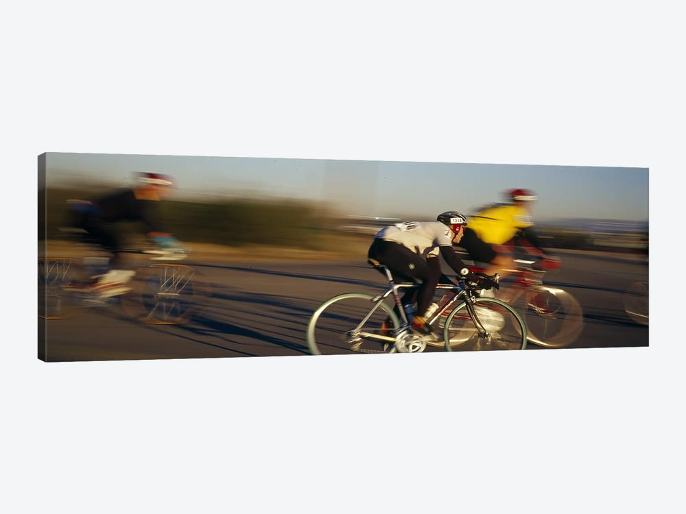 Bicycle race, Tucson, Pima County, Arizona, USA by Panoramic Images 1-piece Canvas Artwork