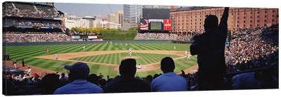 Camden Yards Baseball Game Baltimore Maryland USA Canvas Print #PIM3391