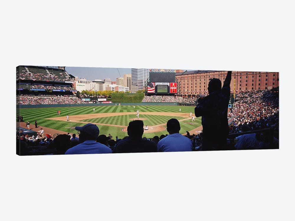 Camden Yards Baseball Game Baltimore Maryland USA by Panoramic Images 1-piece Canvas Wall Art