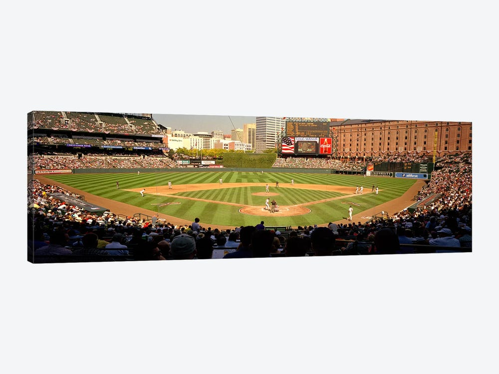 Camden Yards Baseball Game Baltimore Maryland USA #2 by Panoramic Images 1-piece Art Print