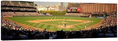 Camden Yards Baseball Game Baltimore Maryland USA #2 Canvas Art Print