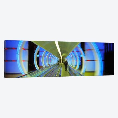 Escalator, Las Vegas Nevada, USA Canvas Print #PIM3408} by Panoramic Images Canvas Wall Art