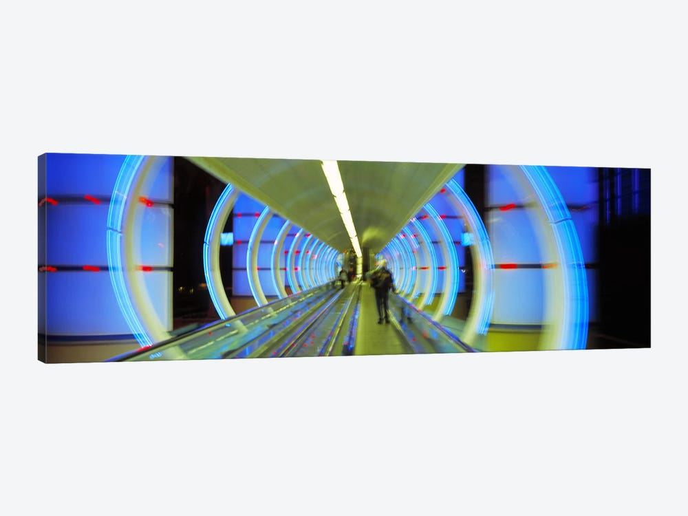 Escalator, Las Vegas Nevada, USA by Panoramic Images 1-piece Canvas Art Print