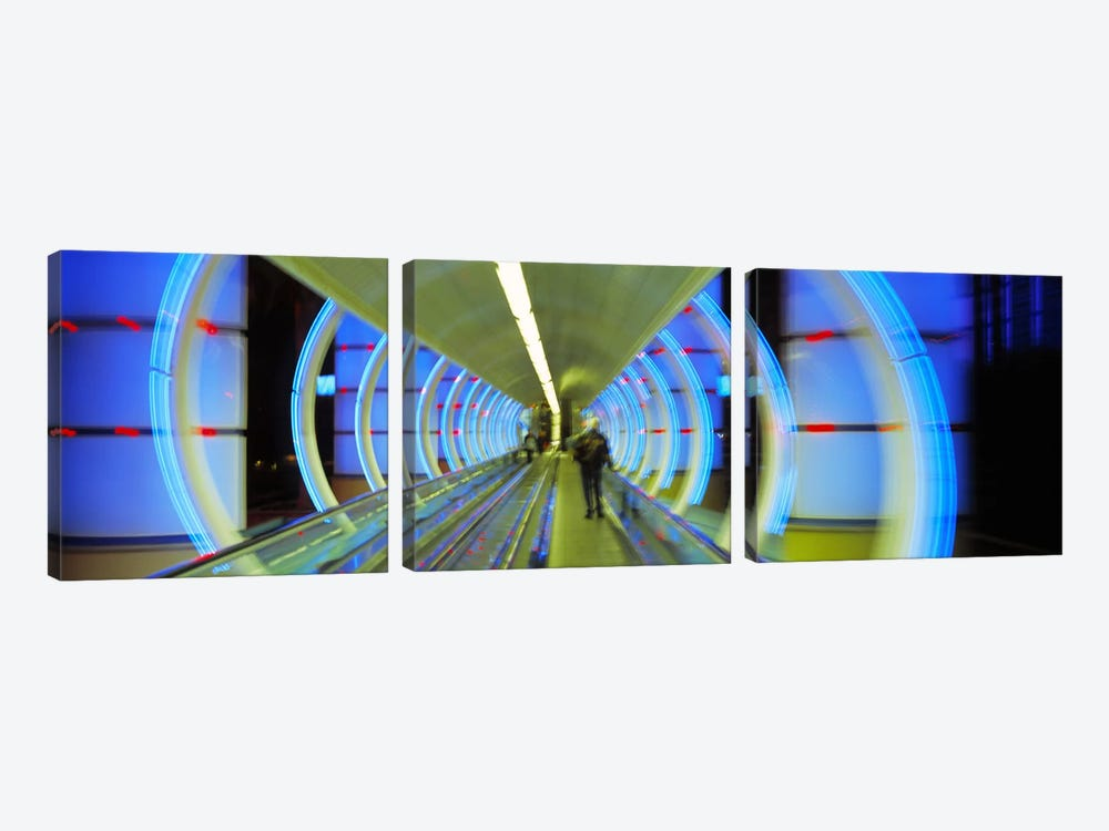 Escalator, Las Vegas Nevada, USA by Panoramic Images 3-piece Canvas Print