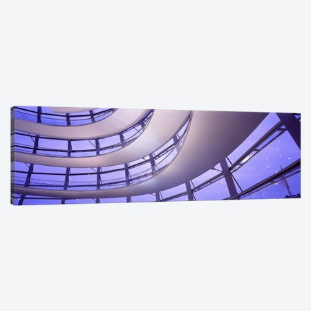 Interior Reichstag Berlin Germany 3-Piece Canvas #PIM3412} by Panoramic Images Art Print