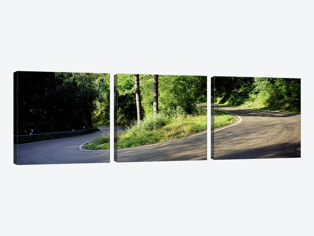 Country Road Southern Germany by Panoramic Images 3-piece Canvas Print
