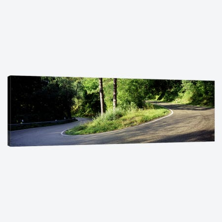 Country Road Southern Germany Canvas Print #PIM3413} by Panoramic Images Canvas Print