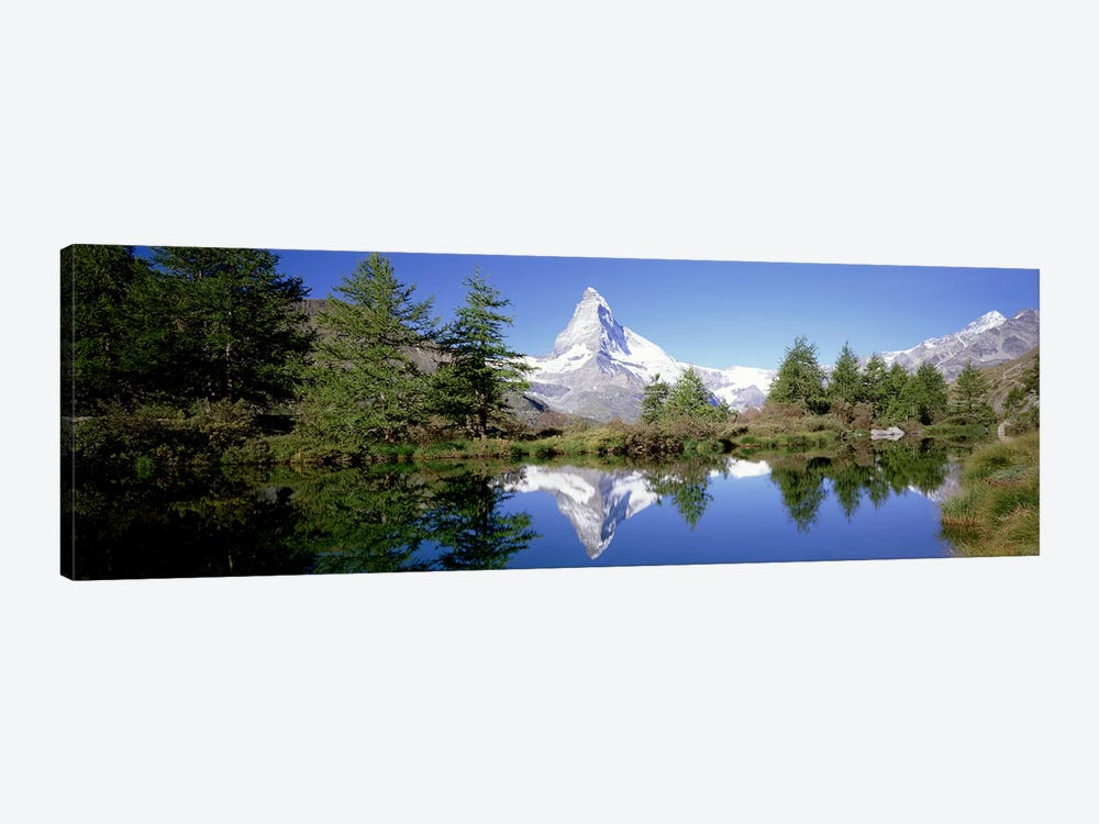 Matterhorn's Riffelsee Reflection, Valais, Switzerland by Panoramic Images 1-piece Art Print