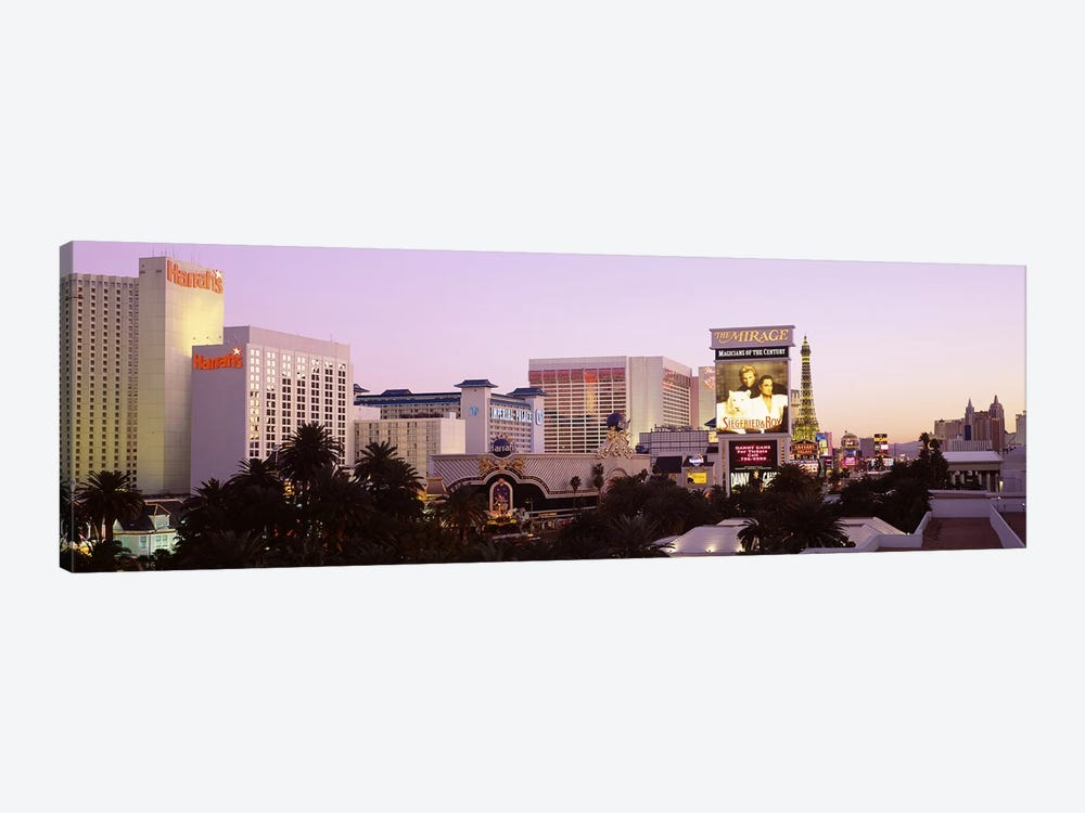 Dusk Las Vegas NV by Panoramic Images 1-piece Canvas Wall Art