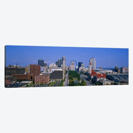 High Angle View Of A City, St Louis, Missouri, USA Canvas Print #PIM3420} by Panoramic Images Canvas Art