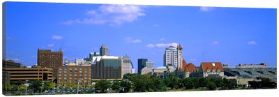 Buildings in a city, St Louis, Missouri, USA #2 Canvas Art Print
