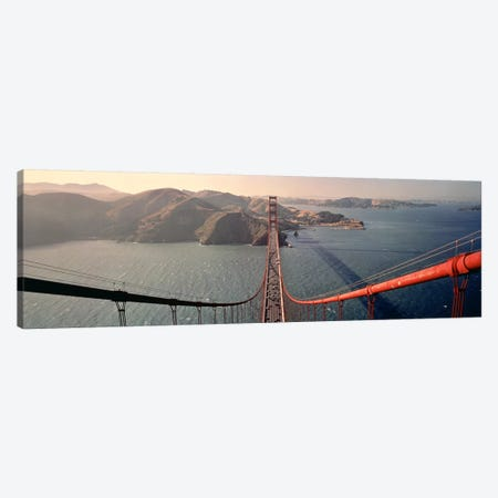 Golden Gate Bridge California USA Canvas Print #PIM3432} by Panoramic Images Canvas Print