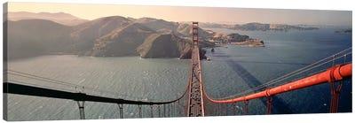 Golden Gate Bridge California USA Canvas Print #PIM3432
