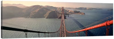 Golden Gate Bridge California USA Canvas Art Print