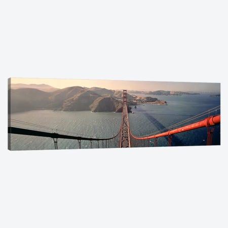 Golden Gate Bridge California USA Canvas Print #PIM3432} by Panoramic Images Canvas Print