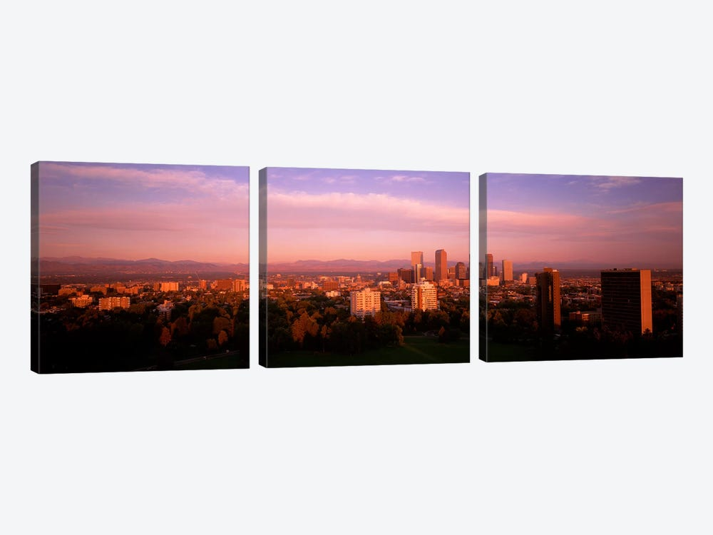 Denver CO by Panoramic Images 3-piece Canvas Print