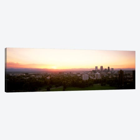 Denver CO Canvas Print #PIM3436} by Panoramic Images Canvas Artwork