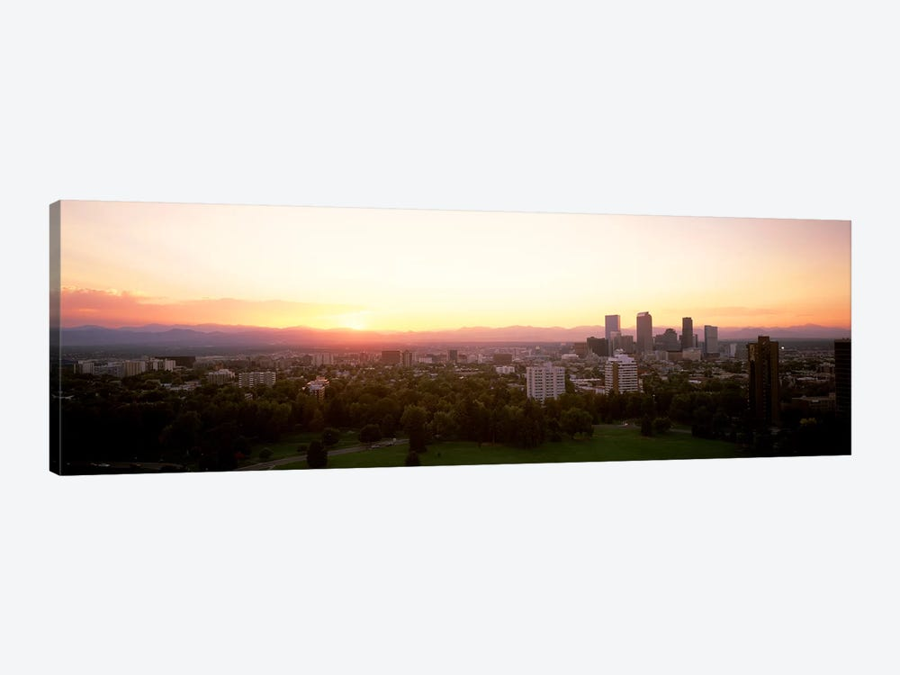 Denver CO by Panoramic Images 1-piece Canvas Wall Art