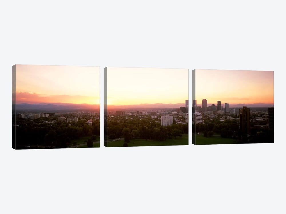 Denver CO by Panoramic Images 3-piece Canvas Wall Art