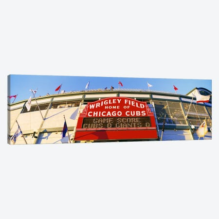USAIllinois, Chicago, Cubs, baseball Canvas Print #PIM3438} by Panoramic Images Canvas Print