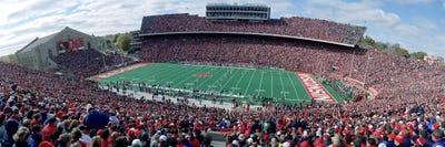 University of Wisconsin Camp Randall Framed Panoramic Stadium Print