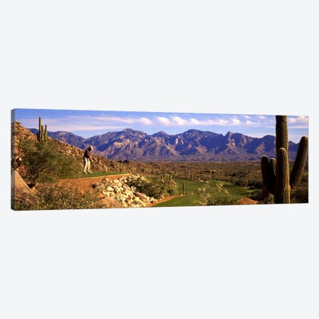 Golf Course Tucson AZ Canvas Print #PIM3448} by Panoramic Images Canvas Artwork