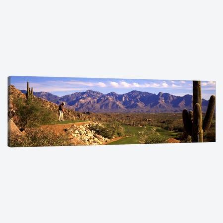 Golf Course Tucson AZ Canvas Print #PIM3448} by Panoramic Images Canvas Artwork