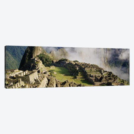 Machu Picchu, Cusco Region, Urubamba Province, Peru Canvas Print #PIM3450} by Panoramic Images Art Print
