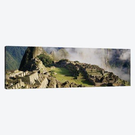 Machu Picchu, Cusco Region, Urubamba Province, Peru Canvas Print #PIM3450} by Panoramic Images Art Print
