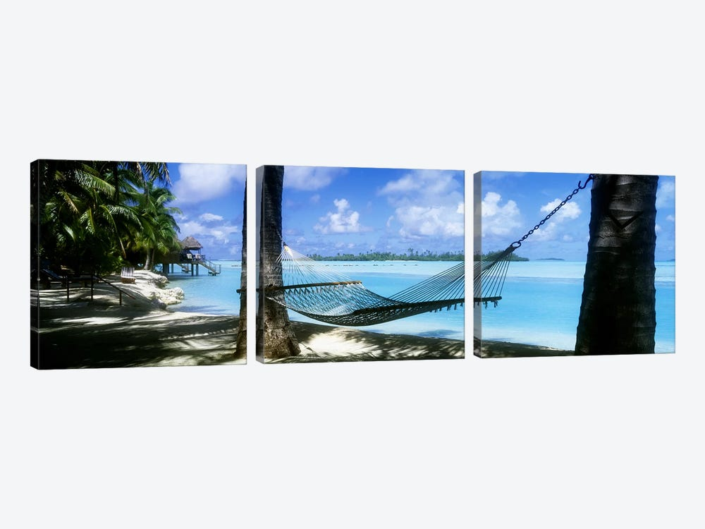 Cook Islands South Pacific by Panoramic Images 3-piece Canvas Wall Art