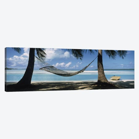 Cook Islands South Pacific Canvas Print #PIM3455} by Panoramic Images Canvas Wall Art