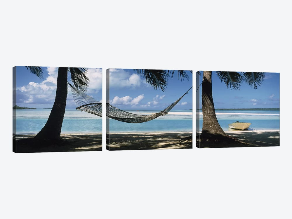 Cook Islands South Pacific by Panoramic Images 3-piece Canvas Print