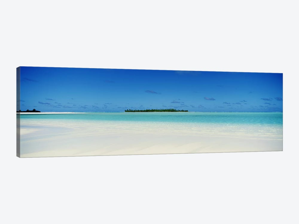 Tranquil Seascape, Cook Islands by Panoramic Images 1-piece Art Print