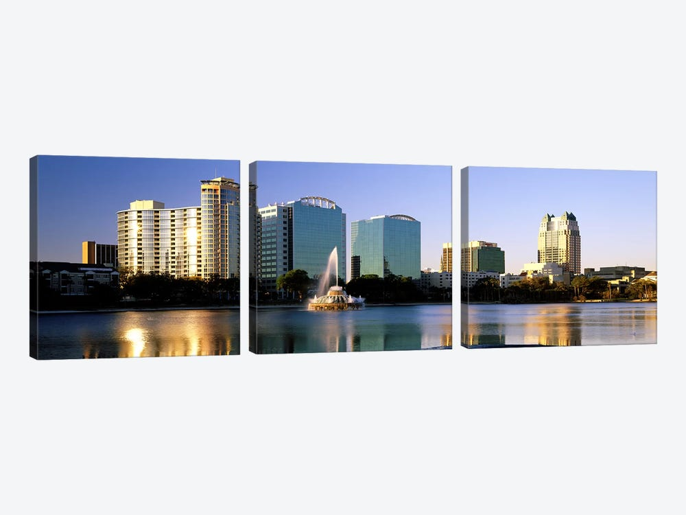 Orlando, Florida, USA #2 by Panoramic Images 3-piece Canvas Print