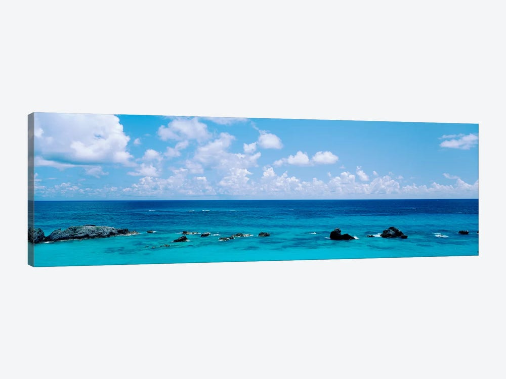 A Cloudy Day Over The Atlantic Ocean Near Bermuda by Panoramic Images 1-piece Canvas Art