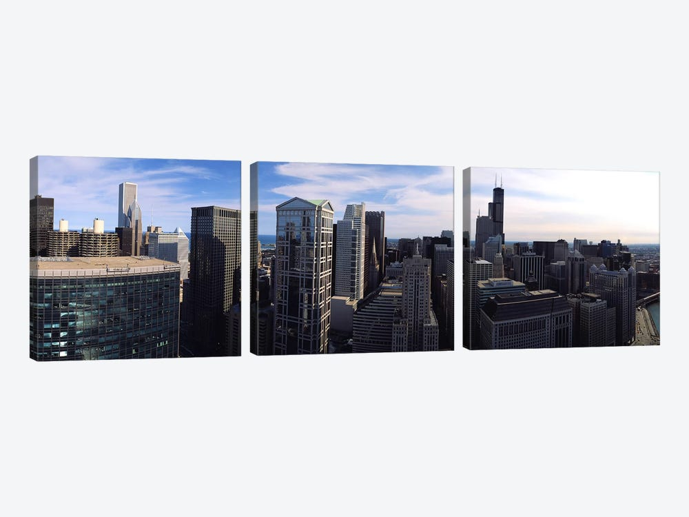 Chicago IL #2 by Panoramic Images 3-piece Canvas Art