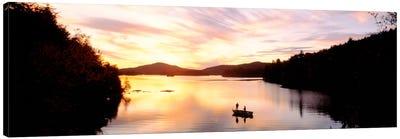Sunset Saranac Lake Franklin Co Adirondack Mtns NY USA Canvas Print #PIM347