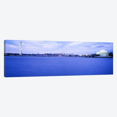 Tidal Basin Washington DC Canvas Print #PIM3480} by Panoramic Images Canvas Wall Art