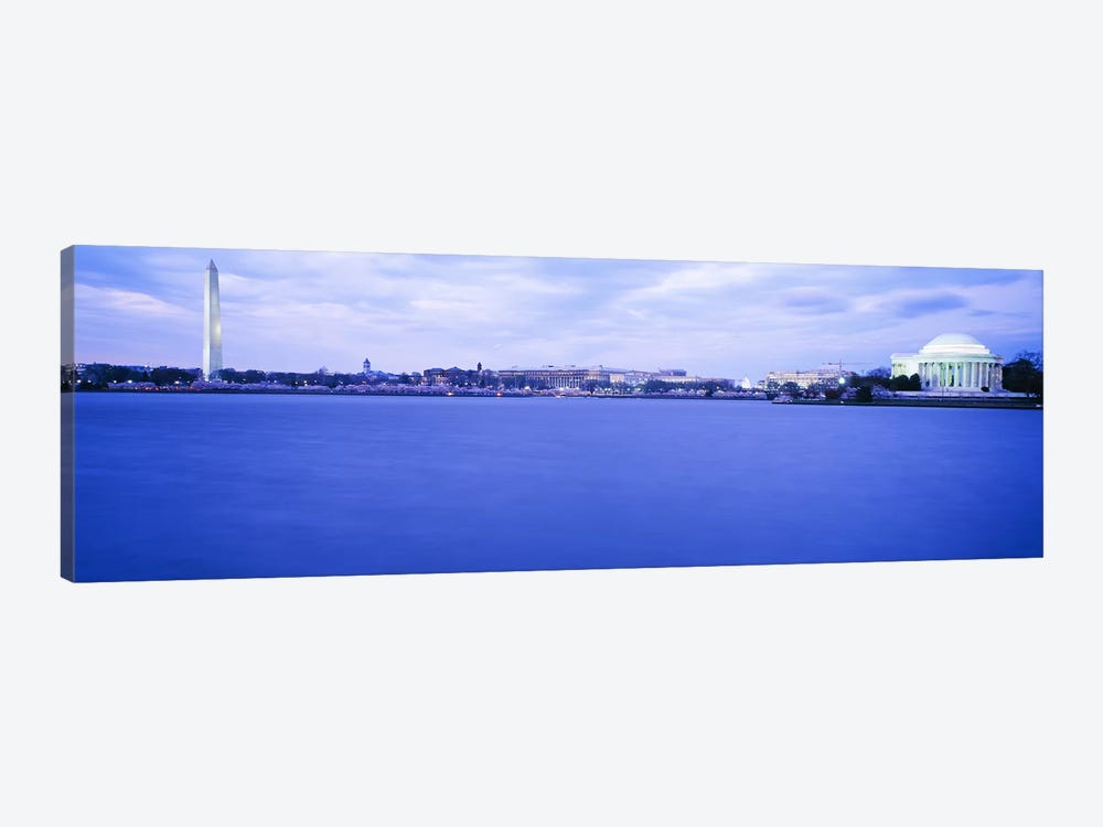 Tidal Basin Washington DC by Panoramic Images 1-piece Art Print