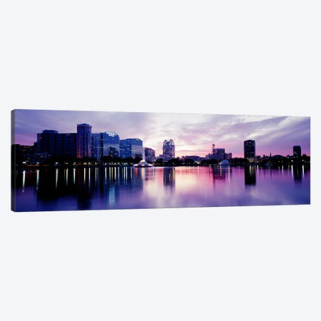 Lake Eola In Orlando, Orlando, Florida, USA Canvas Print #PIM3481} by Panoramic Images Canvas Wall Art