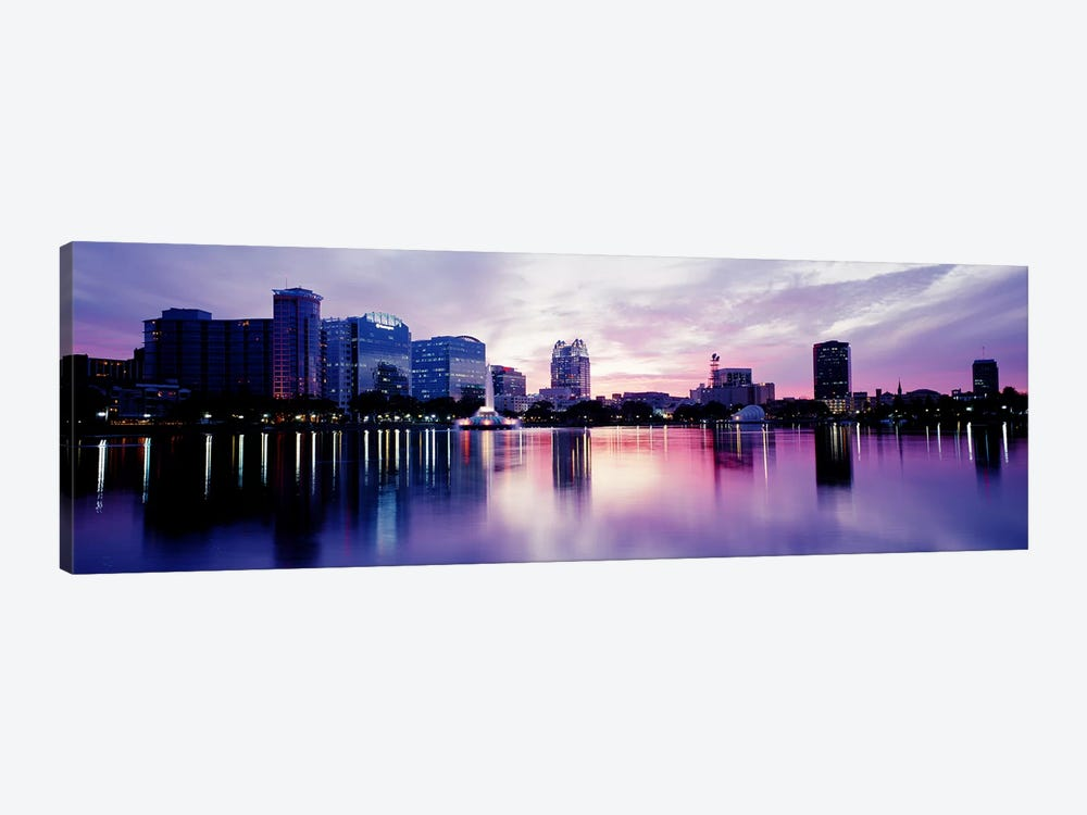Lake Eola In Orlando, Orlando, Florida, USA by Panoramic Images 1-piece Canvas Wall Art