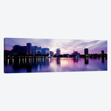Lake Eola In Orlando, Orlando, Florida, USA Canvas Print #PIM3481} by Panoramic Images Canvas Wall Art