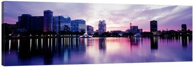 Lake Eola In Orlando, Orlando, Florida, USA Canvas Art Print