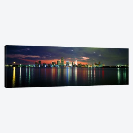 USA, Florida, Miami Canvas Print #PIM3482} by Panoramic Images Canvas Artwork